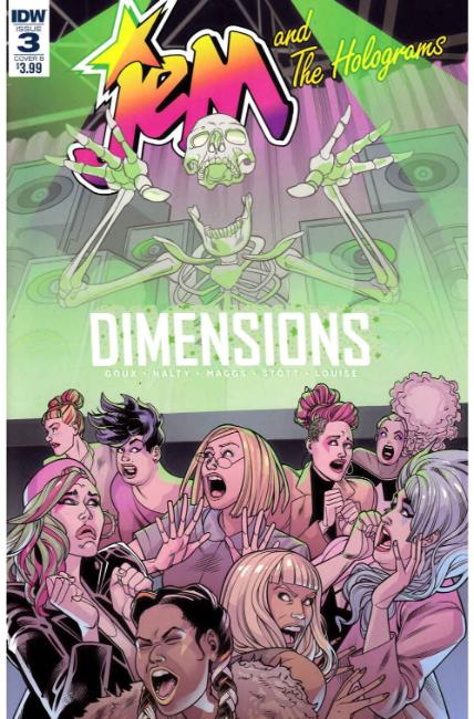 Jem & the Holograms Dimensions #3 Cover B [IDW Comic]