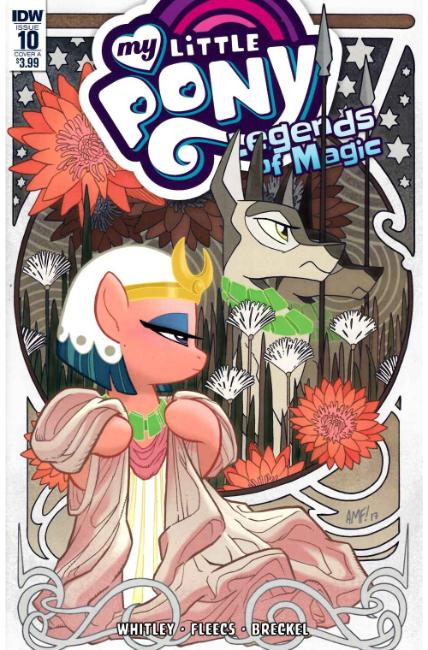 My Little Pony Legends of Magic #10 Cover A [IDW Comic] THUMBNAIL
