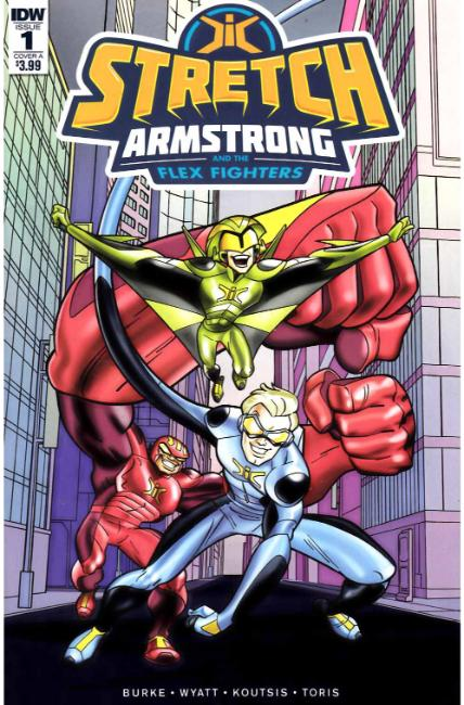 Stretch Armstrong & the Flex Fighters #1 Cover A [IDW Comic] THUMBNAIL