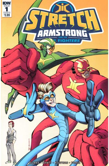 Stretch Armstrong & the Flex Fighters #1 Cover B [IDW Comic]
