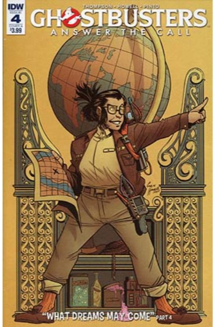 Ghostbusters Answer the Call #4 Cover A [IDW Comic] THUMBNAIL