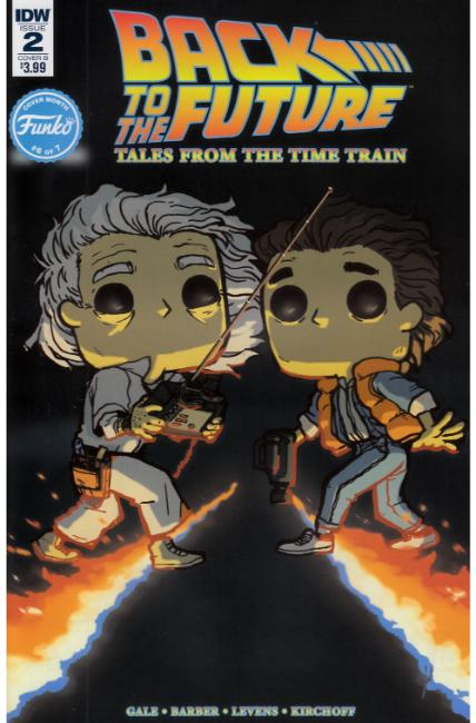 Back to the Future Time Train #2 Cover B [IDW Comic]