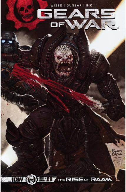 Gears of War Rise of Raam #1 Cover A [IDW Comic]