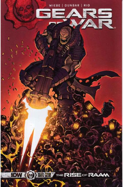 Gears of War Rise of Raam #1 Cover B [IDW Comic]