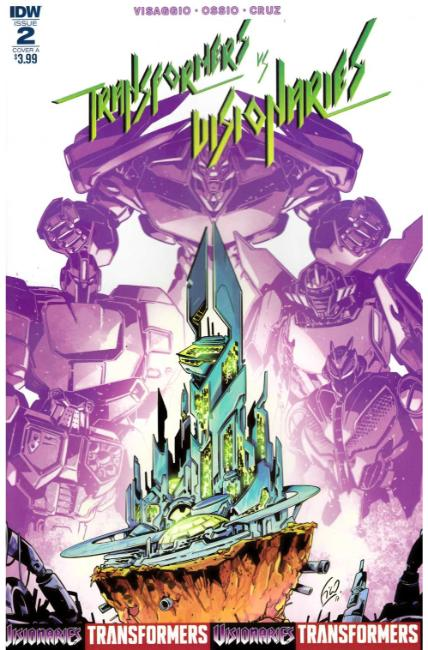 Transformers vs Visionaries #2 Cover A [IDW Comic] THUMBNAIL