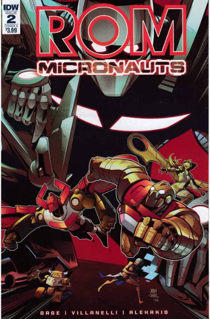 Rom & the Micronauts #2 Cover A [IDW Comic] THUMBNAIL