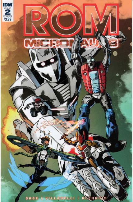 Rom & the Micronauts #2 Cover B [IDW Comic]