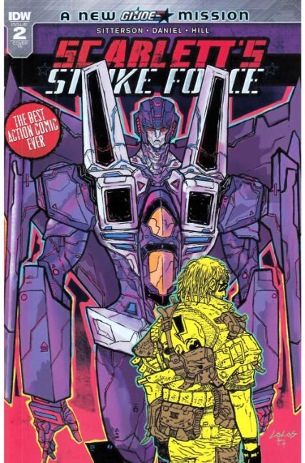Scarletts Strike Force #2 Cover RI [IDW Comic] THUMBNAIL