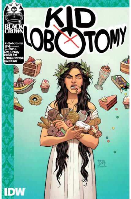 Kid Lobotomy #4 Cover A [IDW Comic]