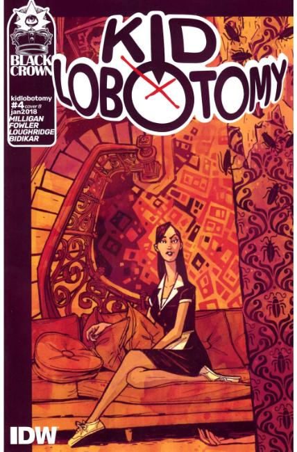 Kid Lobotomy #4 Cover B [IDW Comic]