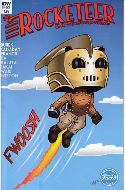 Best of Rocketeer Adventures Funko Edition [IDW Comic]