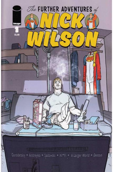Further Adventures of Nick Wilson #1 Cover A [Image Comic] THUMBNAIL