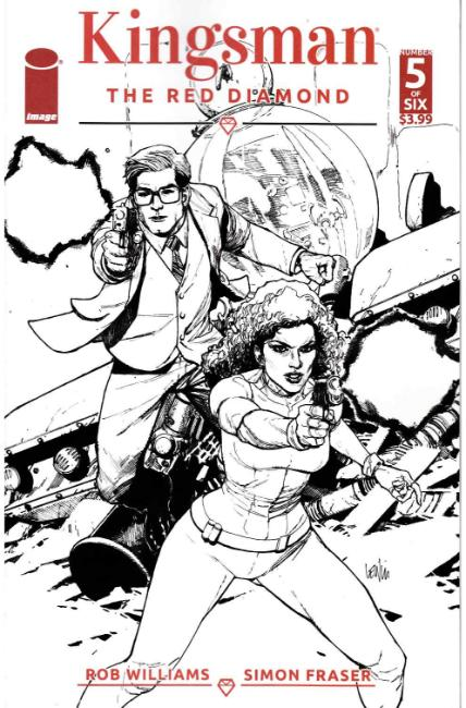 Kingsman Red Diamond #5 Cover B [Image Comic]