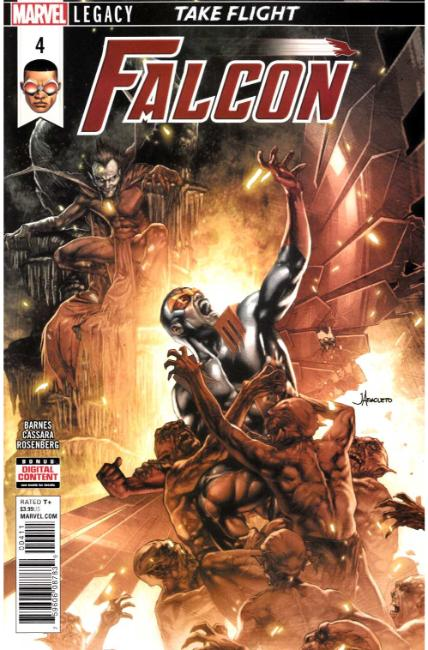 Falcon #4 [Marvel Comic] THUMBNAIL