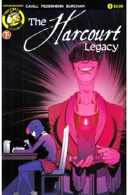 Harcourt Legacy #3 Cover A [Action Lab Comic] THUMBNAIL