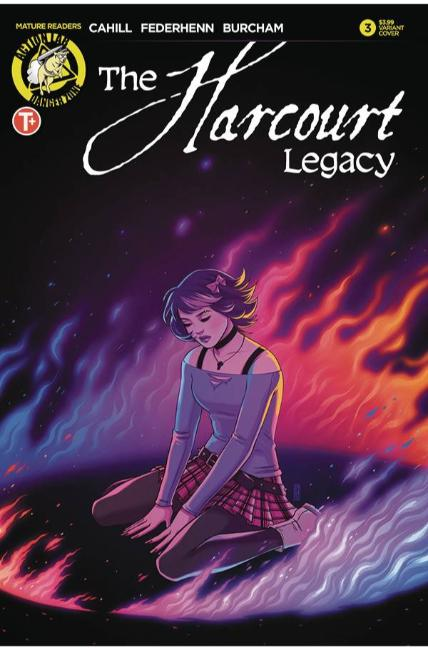 Harcourt Legacy #3 Cover B [Action Lab Comic] THUMBNAIL