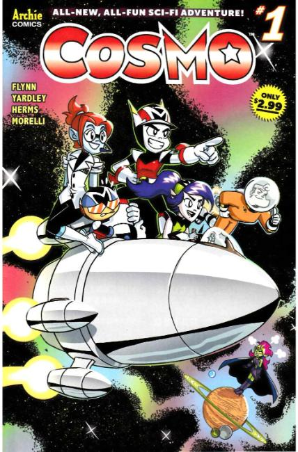 Cosmo #1 Cover D [Archie Comic] THUMBNAIL
