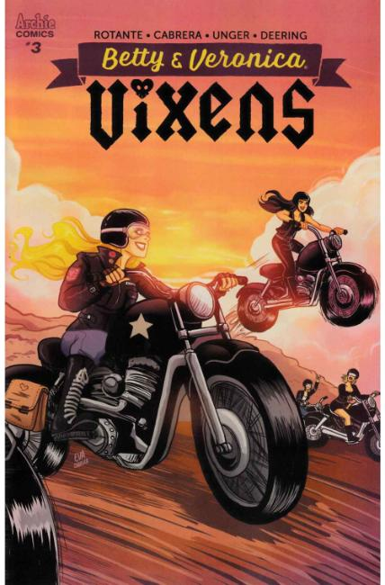 Betty and Veronica Vixens #3 Cover A [Archie Comic] THUMBNAIL