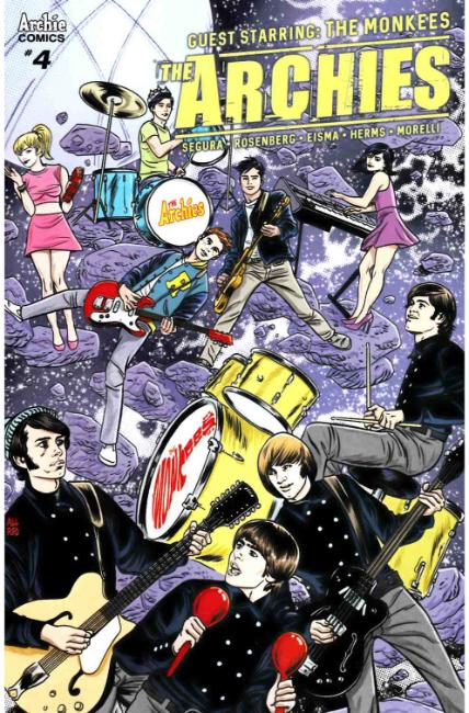 Archies #4 Cover B [Archie Comic] THUMBNAIL