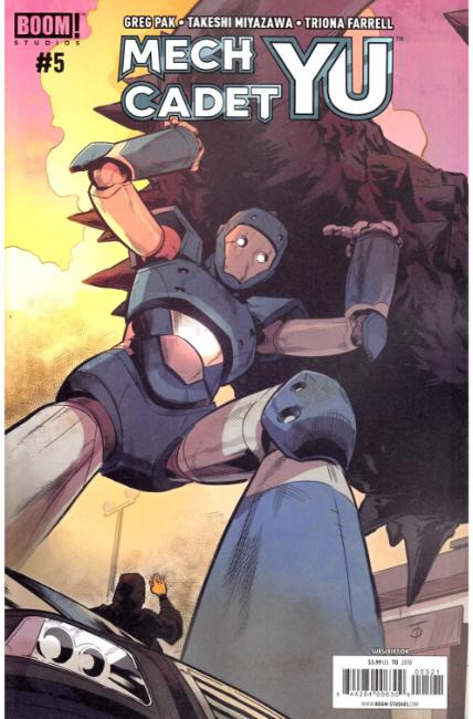 Mech Cadet Yu #5 Subscription Cover [Boom Comic]