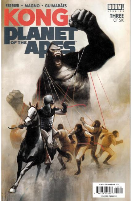 Kong on Planet of the Apes #3 [Boom Comic]