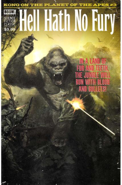 Kong on Planet of the Apes #3 Subscription Cover [Boom Comic] LARGE