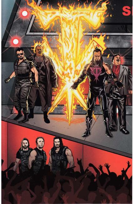 WWE #13 Schoonover Raw Connecting Variant Cover [Boom Comic] THUMBNAIL
