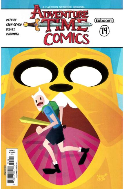 Adventure Time Comics #19 Subscription Cover [Boom Comic] THUMBNAIL