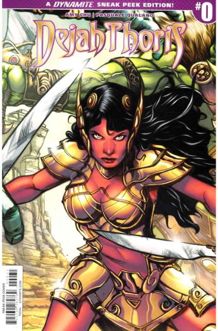 Dejah Thoris #0 Cover C- Davila Incentive [Dynamite Comic] THUMBNAIL