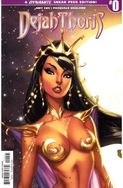 Dejah Thoris #0 Cover D- Campbell Incentive [Dynamite Comic] THUMBNAIL