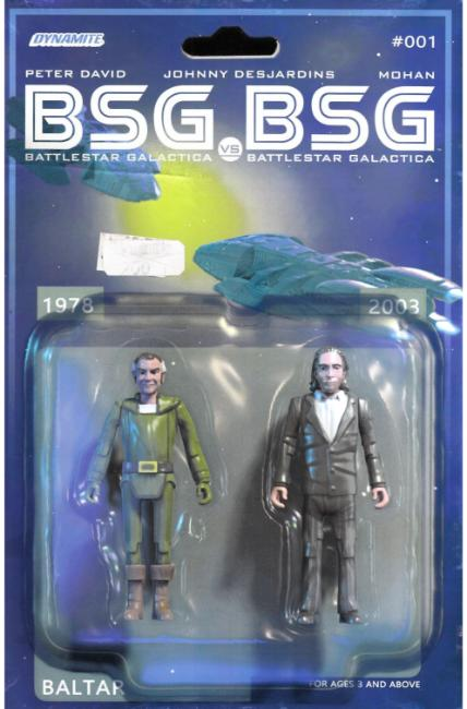 BSG vs BSG #1 Cover D [Dynamite Comic]