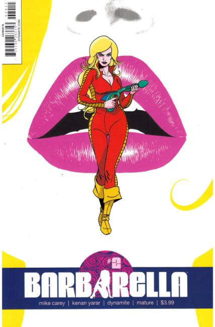 Barbarella #2 Cover A [Dynamite Comic] THUMBNAIL