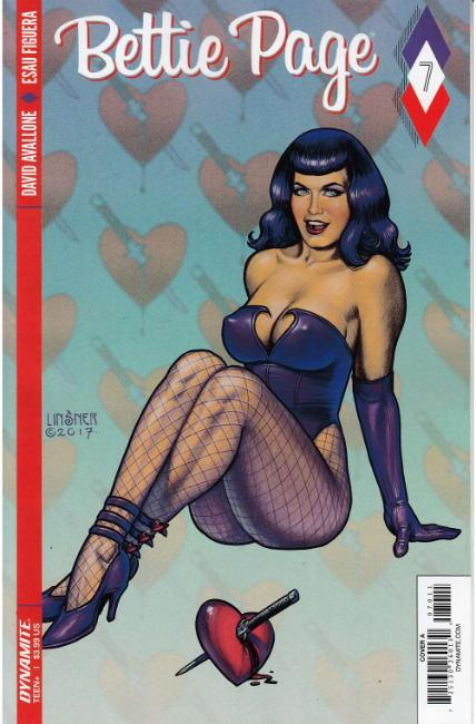 Bettie Page #7 Cover A [Dynamite Comic] THUMBNAIL