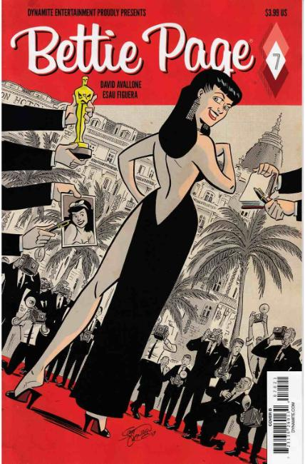 Bettie Page #7 Cover B [Dynamite Comic] THUMBNAIL