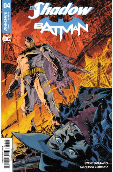 Shadow Batman #4 Cover E [Dynamite Comic] THUMBNAIL