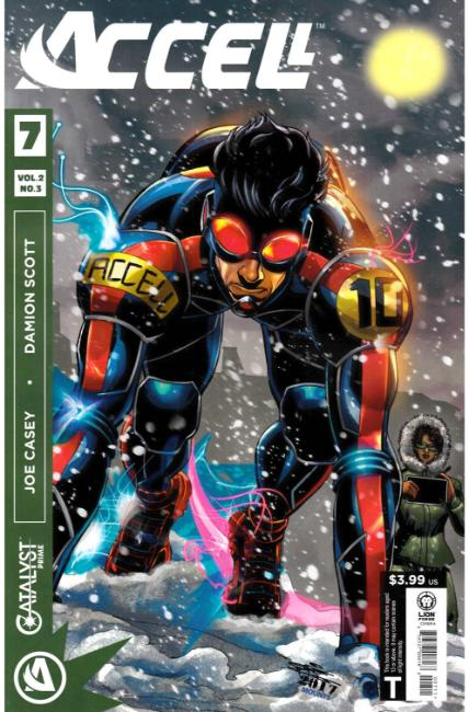 Catalyst Prime Accell Volume 2 #3 [Lion Forge Comic] LARGE