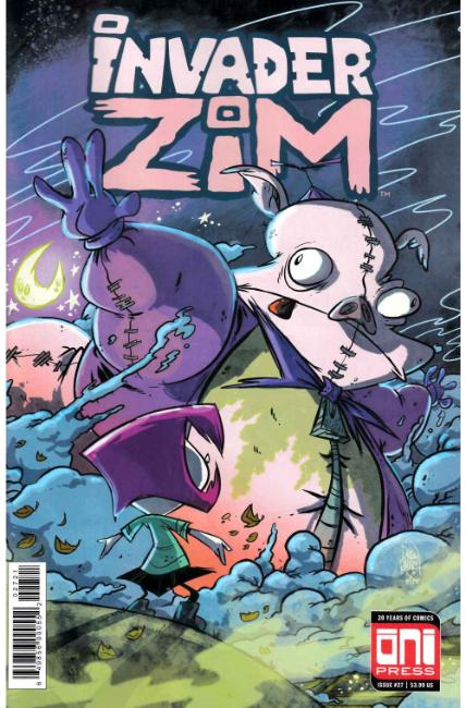 Invader Zim #27 Rausch Variant Cover [Oni Press Comic] THUMBNAIL
