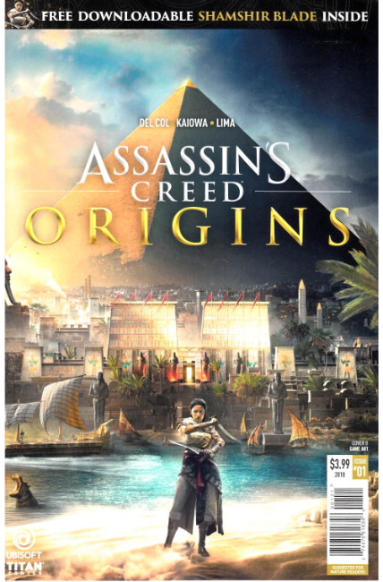 Assassins Creed Origins #1 Cover B [Titan Comic] THUMBNAIL