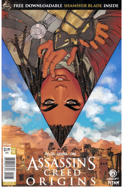 Assassins Creed Origins #1 Cover C [Titan Comic] THUMBNAIL