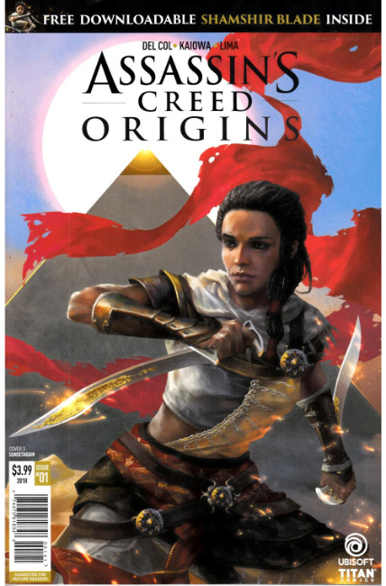 Assassins Creed Origins #1 Cover D [Titan Comic] THUMBNAIL