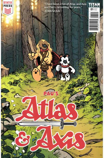 Atlas and Axis (Statix) #1 Cover B [Titan Comic] THUMBNAIL