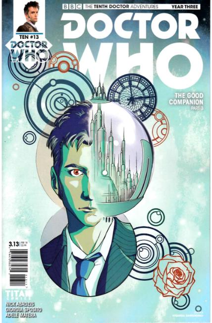 Doctor Who 10th Doctor Year Three #13 Cover A [Titan Comic] THUMBNAIL