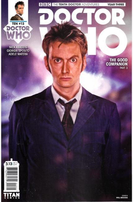 Doctor Who 10th Doctor Year Three #13 Cover B [Titan Comic] THUMBNAIL