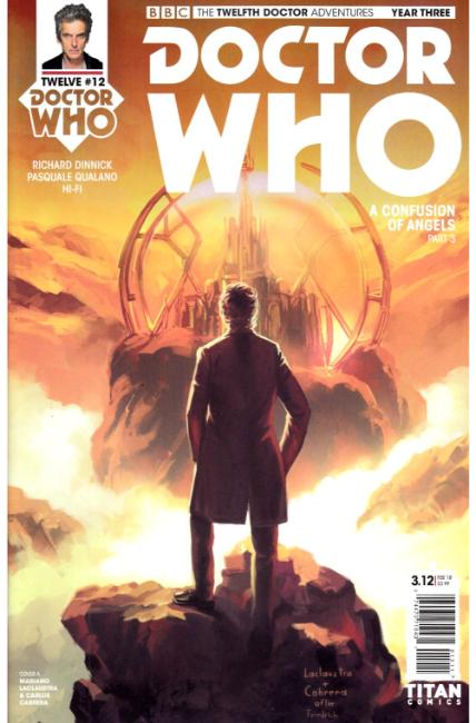 Doctor Who 12th Doctor Year Three #12 Cover A [Titan Comic] THUMBNAIL