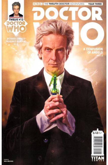 Doctor Who 12th Doctor Year Three #12 Cover B [Titan Comic] THUMBNAIL
