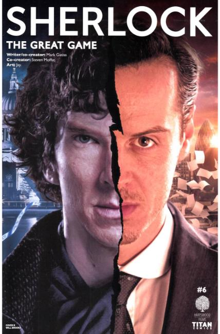 Sherlock Great Game #6 Cover B [Titan Comic]_THUMBNAIL