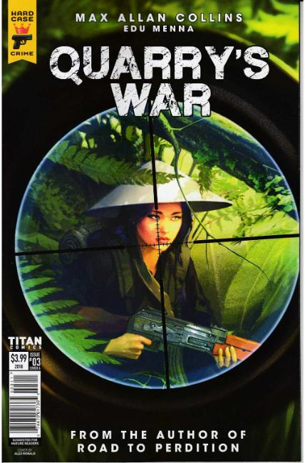 Quarrys War #3 Cover A [Titan Comic] THUMBNAIL