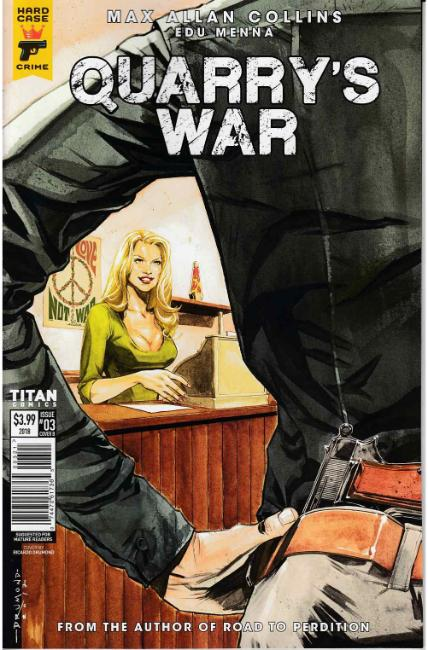 Quarrys War #3 Cover B [Titan Comic] THUMBNAIL
