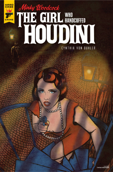 Minky Woodcock Girl Who Handcuffed Houdini #3 Cover A [Titan Comic] THUMBNAIL