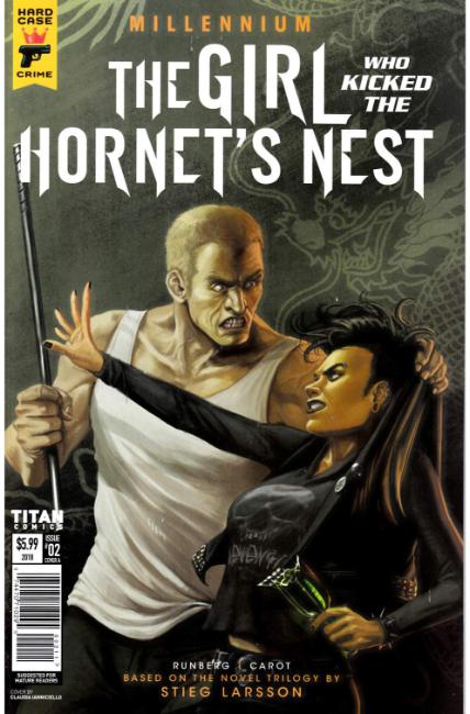 Millennium Girl Who Kicked the Hornets Nest #2 Cover A [Titan Comic] THUMBNAIL